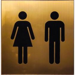 Toilette tábla