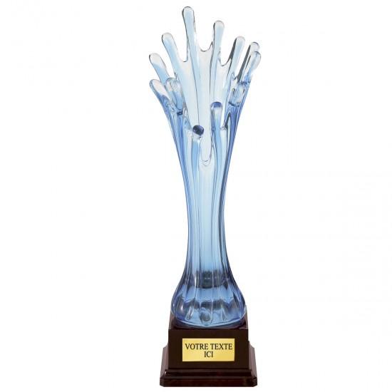 4000C Üveg Váza 22 cm