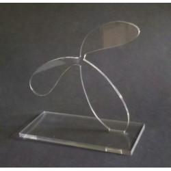 Egyedi plexi díj